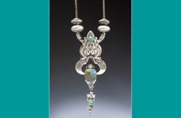Pendant | Silver with Carico Lake Turquoise