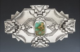 Buckle | Silver & Turquoise