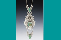 Pendant | Silver with Turquoise