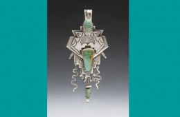 PIN | Silver with Turquoise