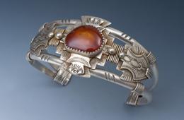 Bracelet | Silver & Carnelian