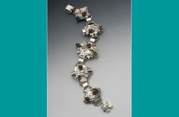 Bracelet | Silver & Garnet