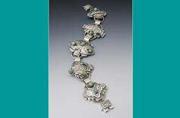 Bracelet | Silver & Kingman Turquoise
