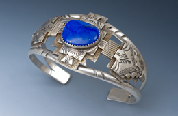 Bracelet | Silver, Lapis
