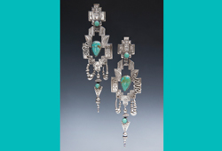 Earrings | Silver with Turquoise